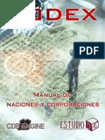[Estudio D6] CODEX, Manual de Naciones y Corporaciones (CdB Engine) (2016)