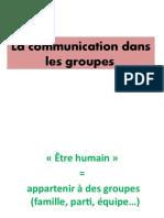 Communication dans les Groupes