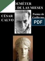 Deméter Madre de Las Mieses, poema de Guillermo Calvo Soriano