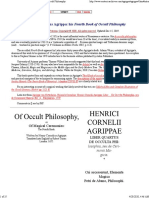 Heinrich Cornelius Agrippa_ his Fourth Book of Occult Philosophy