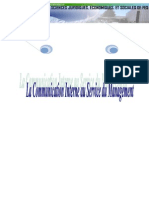 Communication Interne Au Service Du Management Doc