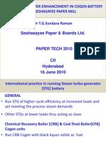 PAPERTECH 2010 SPB Presentation 5 June2010