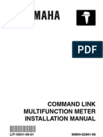 Yamaha Command Link Installation Guide