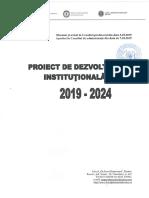 Liceul GRR Plan Dezvoltare Institutionala 2019 2024