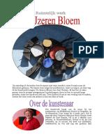 CKV Verslag 4 Ijzeren Bloe