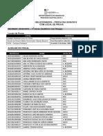 Alunos selecionados (02-06-2019 - com local de prova)