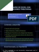 Seminario de Excel con aplicaciones tributarias