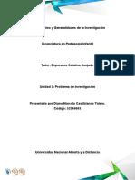 Proyecto de Investigacion, unidad 2