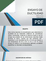ENSAYO DE DUCTILIDAD