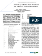 Modeling of Combined Cycle Power Plant Based on a Genetic Algorithm Parameter Identification Method 2010