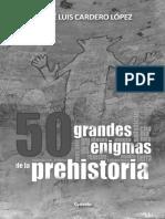 50 enigmas Prehistoria 18p Rsñ