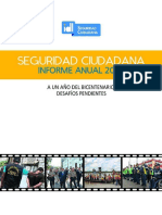 INFORME ANUAL SEGURIDAD CIUDADANA IDL 2019