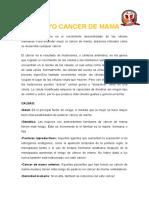 ENSAYO DE CANCER DE MAMA