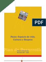 Plan de desarrollo 2001-2003
