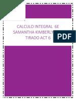 Calculo Integral 6