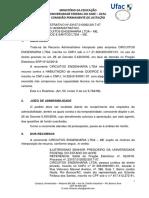 20. DECISÃO DE RECURSOS - PREGÃO SRP Nº 02.2018 - MANUTENÇÃO ELETRICA III