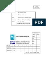 04. Procedure Packing pt. Hamon - Comment