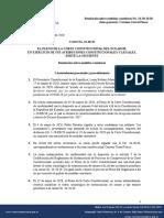 Corte Constitucional Concede Medidas Cautelares (1)