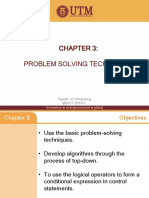 030 Chapter 3 Problem Solving Technique