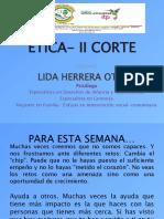 Etica - II Corte