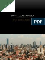ESPACIO LOCAL Y VIVIENDA