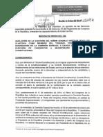 Somos Perú presenta moción para anular elección de Gonzalo Ortiz de Zevallos al TC