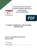 7.2 - Contratos y Obligaciones Mercantiles
