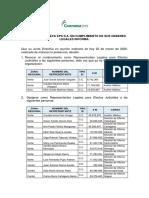 Decisiones de Junta Directiva 25032020