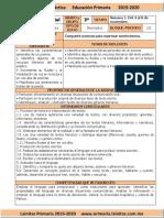 Noviembre - 3er Grado Español (2019-2020) (1)