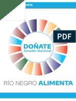 Doñate presentó un proyecto para potenciar la producción alimentaria en Río Negro