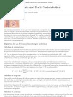 Digestión y Absorción en el Tracto Gastrointestinal - ClinicalKey