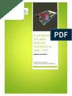 Plan Maestro Mercado Mayorista de Lima