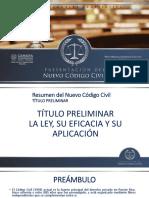 Resumen Código Civil  Camara de Representantes 13 mayo 2020