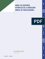 DGPCriterios Para Citas Manual de criterios editoriales de la direccion general de publicaciones