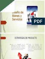 diseño de bienes y servicios