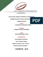estado de salud y enfermedad de las Organizacion -  LV & C -SAC