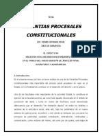 Garantías procesales constitucionales en México.doc