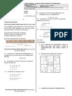 Guía matemáticas semana 4 Mayo