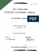 The Vanguard Satellite Launching Vehicle an Engineering Summary
