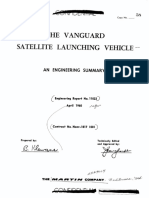 The Vanguard Satellite Launching Vehicle an Engineering Summary