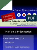 Google Adwords Leader du Marché des Liens Sponsorises