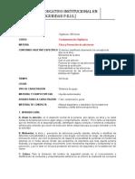 03. ETICA Y PREVENCION DE ADICCIONES