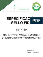 esp4130_02, BALASTRO PARA LAMPARAS FLUORESCENTES COMPACTAS.pdf