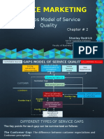 Service Marketing - Chapter 2 - The Gaps Model of Service Quality