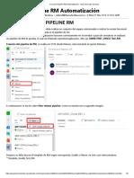 Creación Pipeline RM Automatización - Azure DevOps Services