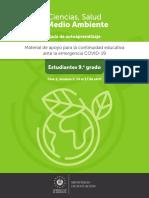 Ensayo de guía ciencia salud y medio ambiente