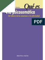 ¿Qué es la psicosomática (Qué es). Del silencio de las emociones a la enfermedad.pdf