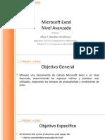 Curso Excel Avanzado - Uatsa