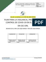 Plan Para La Vigilancia, Prevención y Control de Covid-19 en El Trabajo - RM-239-2020-MINSA y 265.2020-MINSA (v. 3.0)