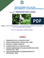 GFF 5. Especies amenazadas de Flora y Fauna, Especies CITES-Perú, Lineamientos UICN.pdf